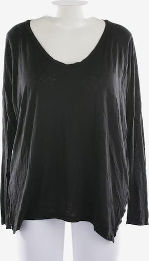Velvet Shirt langarm in L in schwarz, Produktansicht