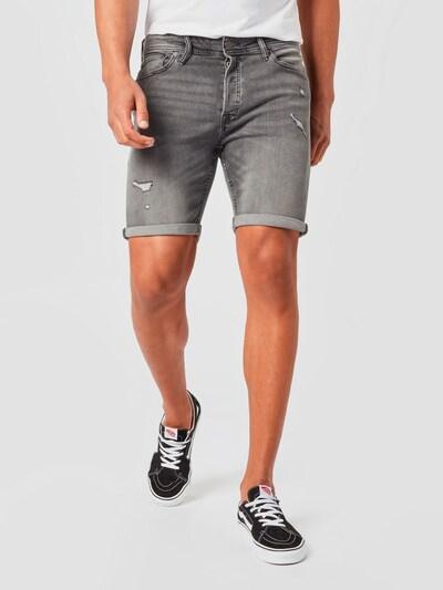 JACK & JONES Jeans 'Rick Original' in grey denim, Modelansicht