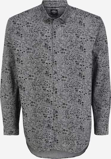 Camicia s.Oliver Red Label (Plus) di colore grigio / nero, Visualizzazione prodotti