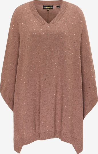 usha BLACK LABEL Cape in Dusky pink / Silver, Item view