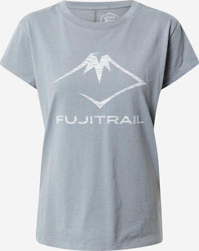 ASICS Shirt in grau / weiß, Produktansicht