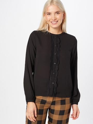VILA Bluse i svart