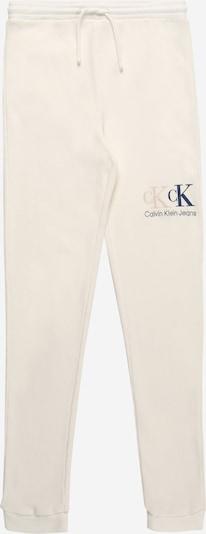 Kelnės iš Calvin Klein Jeans, spalva – smėlio spalva / kremo / juoda, Prekių apžvalga