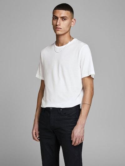 JACK & JONES Camiseta térmica en blanco, Vista del modelo