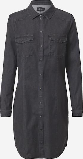ONLY Robe-chemise 'Vic Life' en gris foncé, Vue avec produit