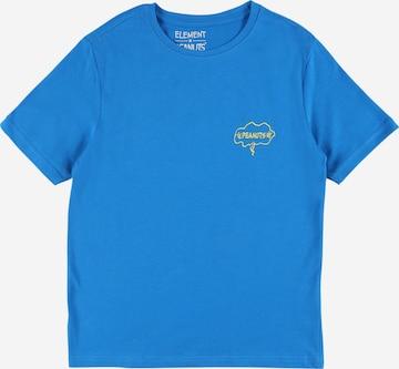 ELEMENT Performance Shirt 'PEANUTS' in Blue