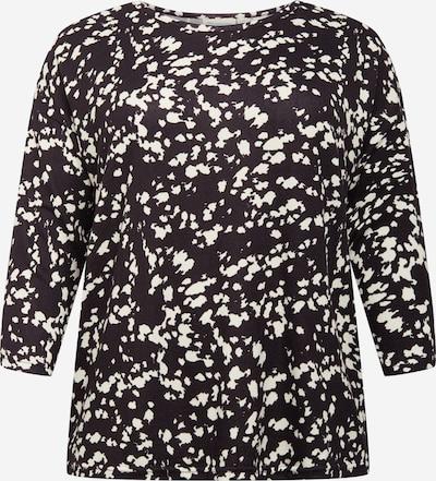 ONLY Carmakoma Тениска 'ALBA' в черно / бяло, Преглед на продукта