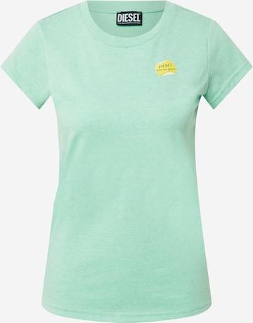 DIESEL Shirt 'T-RECUP-B1' in Green