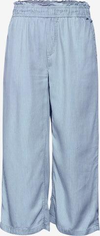 STREET ONE Bukse i blå