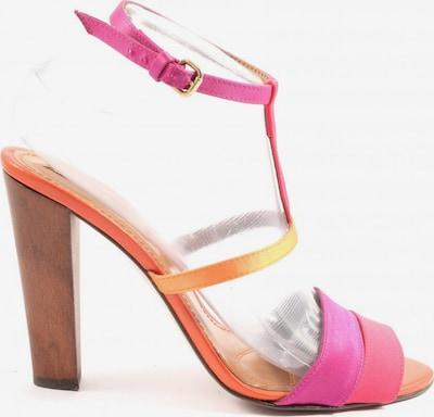 ZARA High Heel Sandaletten in 38 in hellorange / pink, Produktansicht