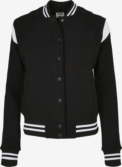 Urban Classics Curvy Between-season jacket in black / white, Item view
