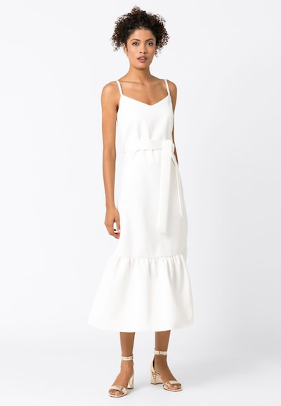 HALLHUBER Kleid in weiß, Modelansicht