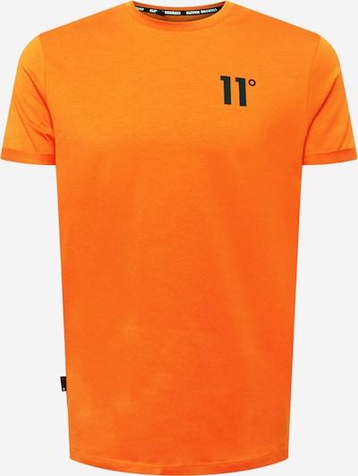 11 Degrees Shirt in de kleur Sinaasappel / Zwart, Productweergave