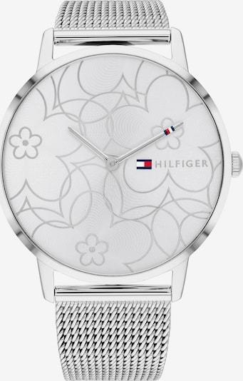 TOMMY HILFIGER Analogové hodinky - stříbrná / bílá, Produkt