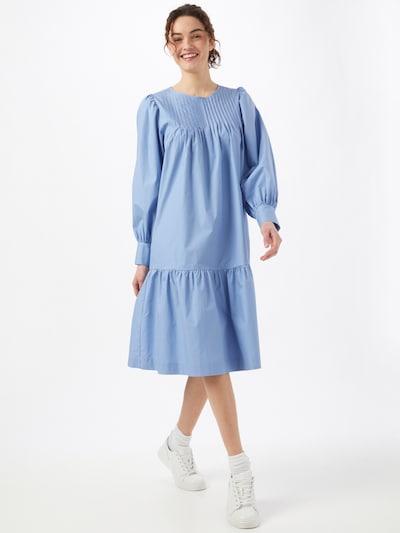 SECOND FEMALE Kleid 'Ula' in hellblau, Modelansicht