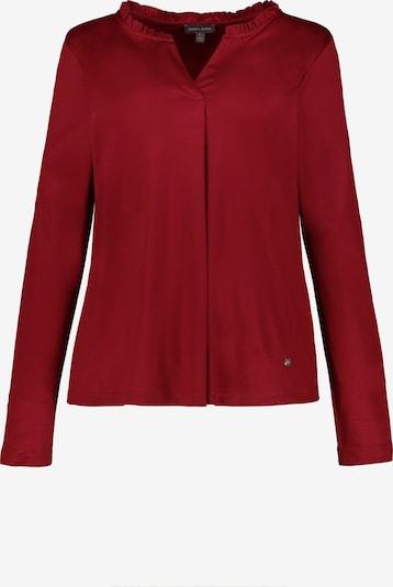 Gina Laura Shirt in dunkelrot, Produktansicht