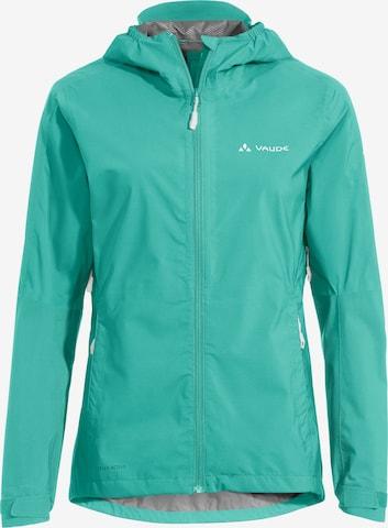 VAUDE Athletic Jacket 'Moab II' in Green