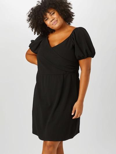 Vero Moda Curve Kleid 'Jasmine' in schwarz, Modelansicht