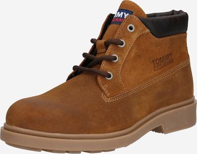 Auliniai batai su raišteliais iš Tommy Jeans , spalva - karamelės / tamsiai ruda, Prekių apžvalga