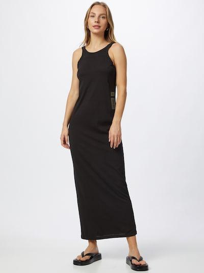 G-Star RAW Kleid in schwarz / weiß, Modelansicht