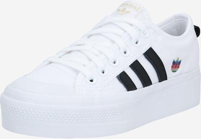 ADIDAS ORIGINALS Baskets basses en noir / blanc, Vue avec produit
