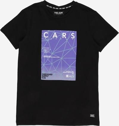Cars Jeans Shirt 'SHANE' in de kleur Lila / Zwart, Productweergave