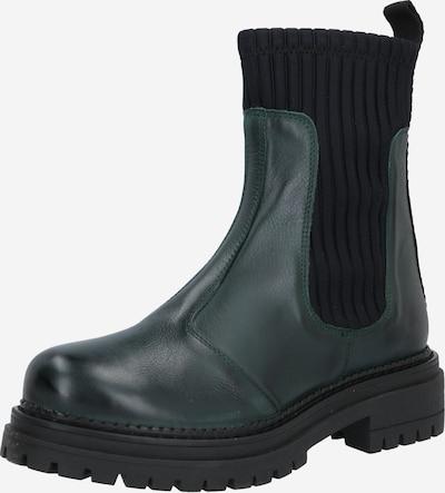 Ca Shott Chelsea Boots en vert foncé, Vue avec produit