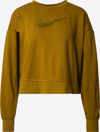 NIKE Sport-Sweatshirt in oliv, Produktansicht