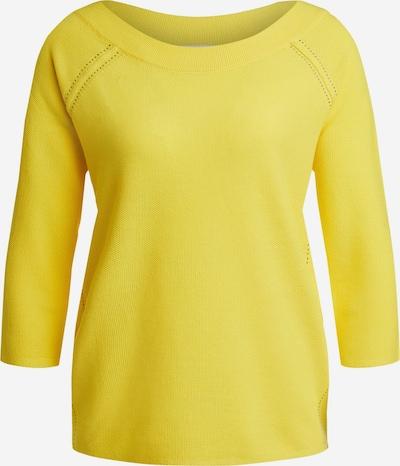 OUI Pullover in gelb, Produktansicht