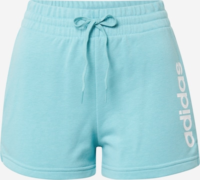 ADIDAS PERFORMANCE Športne hlače | turkizna / bela barva, Prikaz izdelka