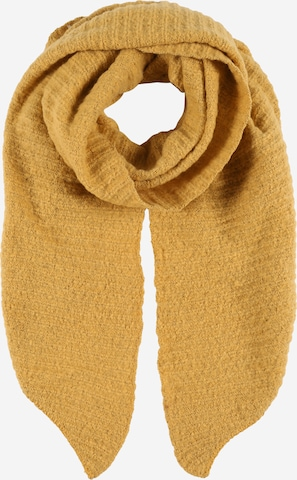 PIECES Scarf 'Pyron' in Yellow
