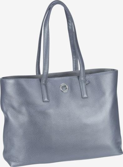 MANDARINA DUCK Shopper ' Leather Lux Tote Bag ZLT24 ' in silbergrau, Produktansicht