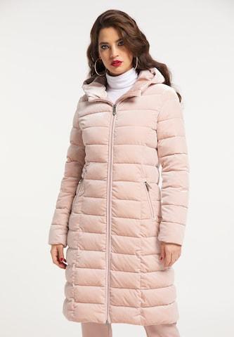 faina Mantel in Pink