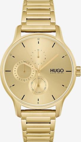 HUGO Analoguhr in Gold