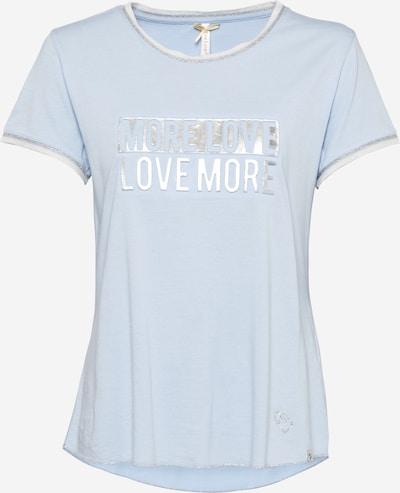 Key Largo Shirts 'MORE' i røgblå / sølv, Produktvisning