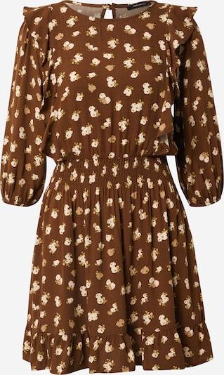 Trendyol Robe en sable / marron / roseau / blanc, Vue avec produit