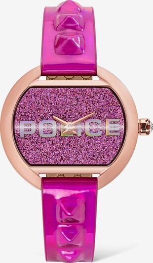POLICE Uhr in rosa / hellpink, Produktansicht