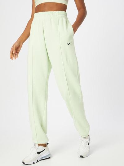 Nike Sportswear Nohavice - pastelovo zelená, Model/-ka