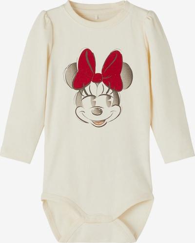 NAME IT Body 'Minnie Ababba' in creme / pastellorange / kirschrot / schwarz, Produktansicht