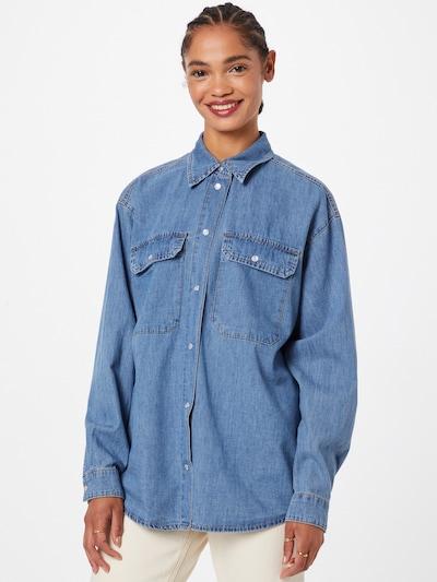 Palaidinė 'Ninas' iš VILA, spalva – tamsiai (džinso) mėlyna, Modelio vaizdas