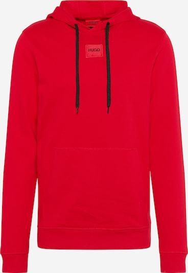 HUGO Sweat-shirt 'Daratschi212' en rouge, Vue avec produit