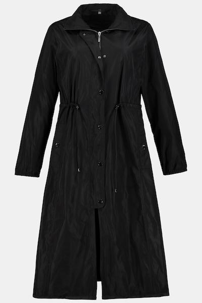 Ulla Popken Parka in schwarz, Produktansicht