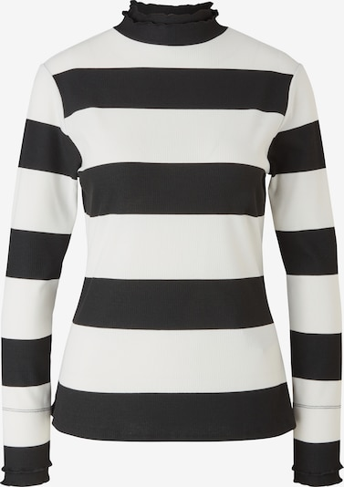 COMMA Shirt in Black / White, Item view