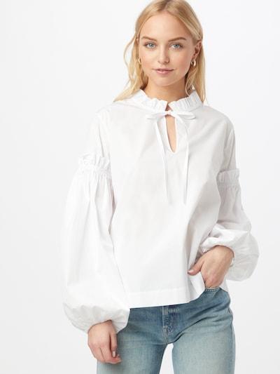 Samsoe Samsoe Blouse 'Maia' in White, View model