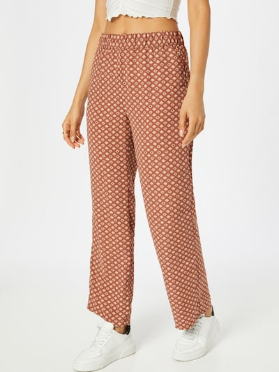 JDY Hose 'MALENE' in beige / rot / schwarz, Modelansicht