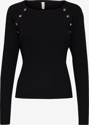 PULZ Jeans Strickpullover 'PZSARA' in schwarz, Produktansicht
