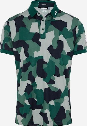 J.Lindeberg T-Shirt fonctionnel 'Tour Tech' en gris / vert / noir, Vue avec produit