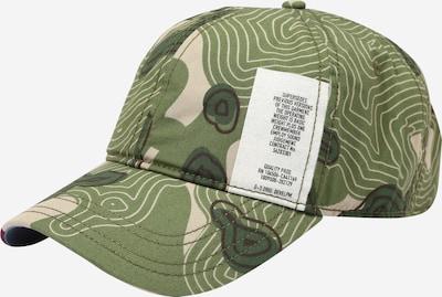 G-Star RAW Шапка с козирка 'Avernus' в зелено / тъмнозелено / черно / бяло, Преглед на продукта