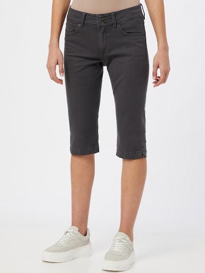 Q/S designed by Jeans in dunkelgrau, Modelansicht