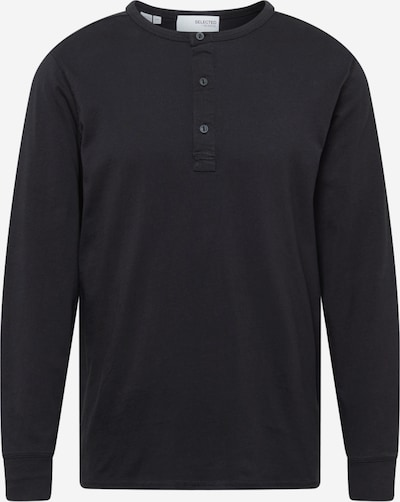 Tricou SELECTED HOMME pe negru, Vizualizare produs